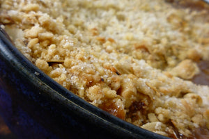 Rhubarb Apple Crumble