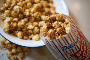 WS Popcorn Series: Bacorn - Bacon Caramel Corn with Pecans