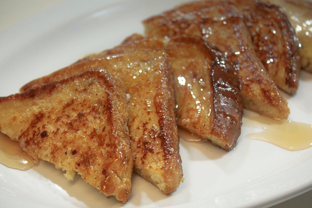 Egg Nog French Toast