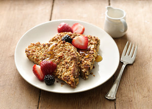 Granola French Toast: Mother's Day Breakfast in Bed
