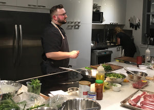 Hot Sauce from Scratch with Chef Carl • Oct 26