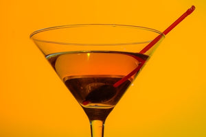 Cranberry Orange Martini
