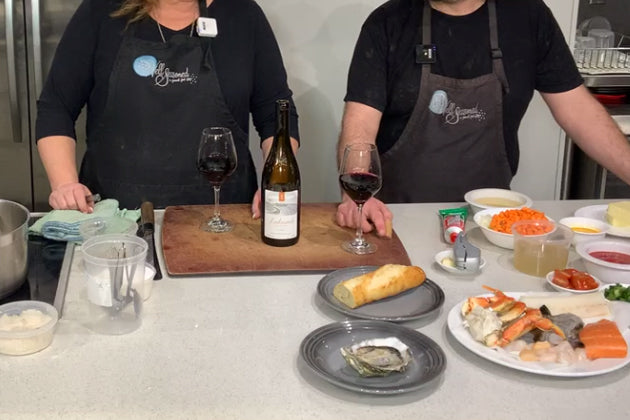 Cook Along with Chef Deniz: West Coast Cioppino with Toast Rouille