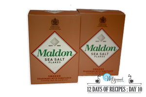 Day 10: 12 Days of Recipes 2017 - Gluten-Free Chocolate Chip Cookies & Maldon Sea Salts!
