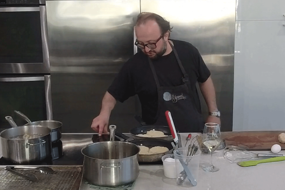 Cook Along with Chef Deniz: Crispy Dungeness Crab Burger with Remoulade