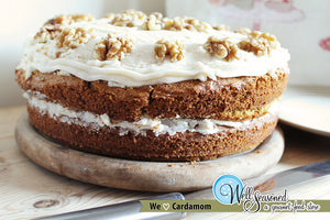 Cardamom Carrot Cake ft. October's Spice of the Month