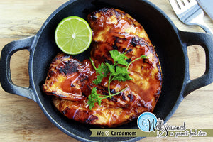Honey Cardamom Chicken ft. October's Spice of the Month