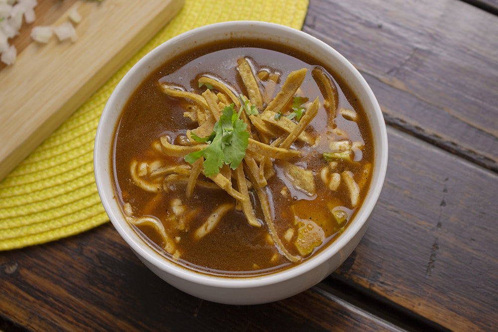 Leftover Turkey Tortilla Soup - Recipes from LT