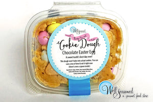 Hopping Good News! Easter Egg Cookie Dough!