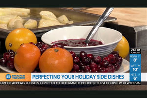 Homemade Citrus Cranberry Sauce with Grand Marnier: Holiday Dinner Side Dishes - As seen on Breakfast TV
