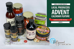 Enter to win the 24-day Local Advent Christmas Feature Box!
