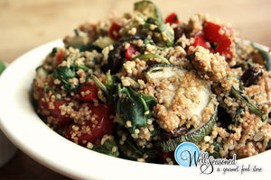 Charred Veggie Couscous