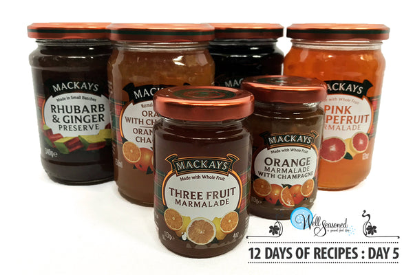 Day 5: 12 Days of Recipes 2017 - Delicious Preserves & Mincemeat Tarts