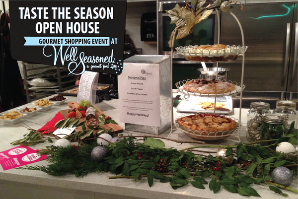 Taste the Season: Our Annual Christmas Open House