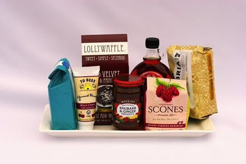 Breakfast in Bed | Gourmet Gift Basket - Shipping Canada Wide | Well Seasoned Gourmet Food Store Langley, BC