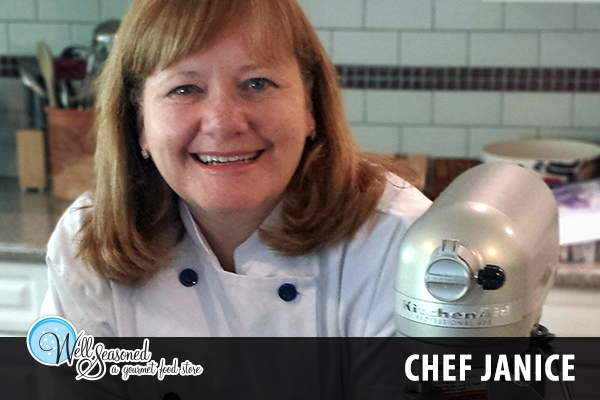 Pastry Chef Janice, Teaching Chef at Well Seasoned