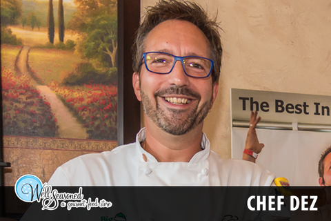Chef Dez | Chefs + Teachers | Well Seasoned, a gourmet food store and cooking school