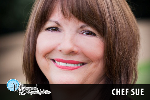 Chef Sue | Chefs + Teachers | Well Seasoned, a gourmet food store and cooking school in Langley