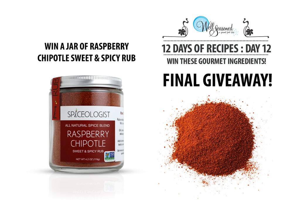 Win a jar of spiceologist spice rub from Well Seasoned