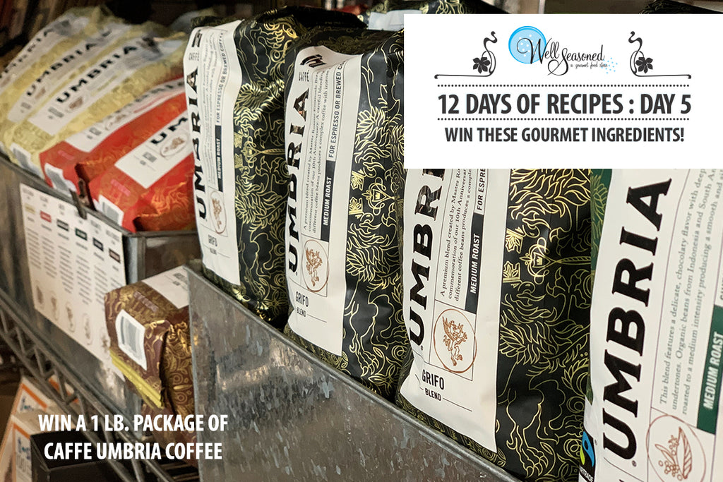 Win a 1lb package of Caffe Umbria Coffee
