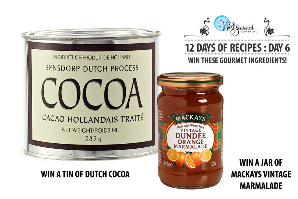 Win a jar of Vintage Marmalade and Cocoa from Well Seasoned