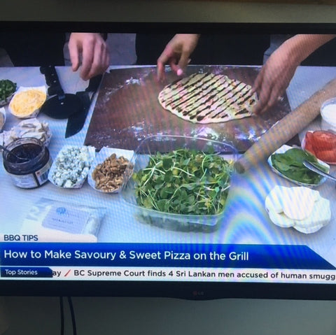 Grilled Pizza Dough | As seen on Global BC