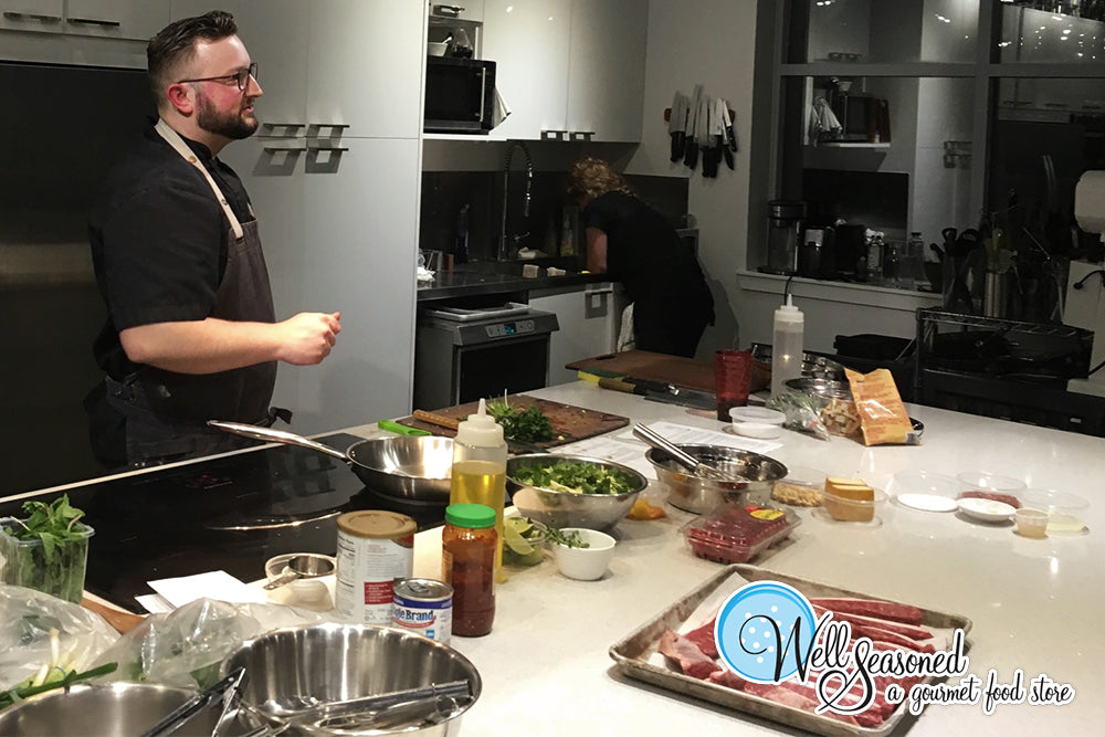 Take a Cooking Class at Well Seasoned, a gourmet food store and cooking school in Langley, BC