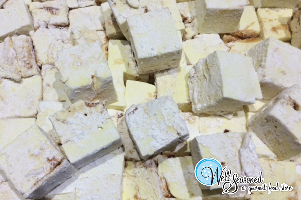 Gourmet Banana Caramel Flavoured Marshmallows | Fresh | Well Seasoned, a gourmet food store serving the Lower Mainland, Fraser Valley and Vancouver area