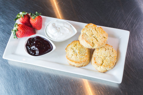 Slice 'n' Bake Double Cream Scones | New In Store | Well Seasoned, a gourmet food store serving the Lower Mainland and Fraser Valley