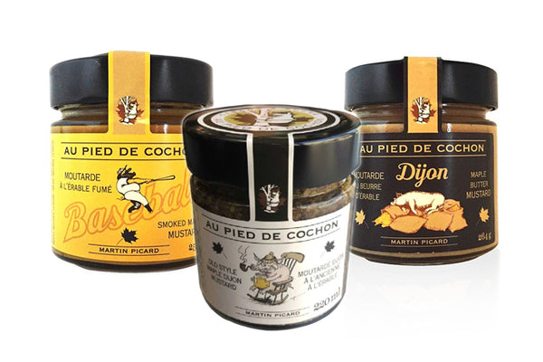 Au Pied Du Cochon | Mustards | Well Seasoned, a gourmet food store