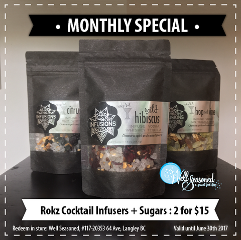 Rokz Infusion Kits | Well Seasoned Gourmet Food Store Langley, BC