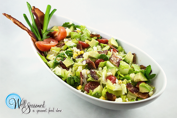Who said catered salads have to be boring? BLT salad anyone? | Catering | Well Seasoned, a gourmet food store serving the Fraser Valley, Lower Mainland and Vancouver