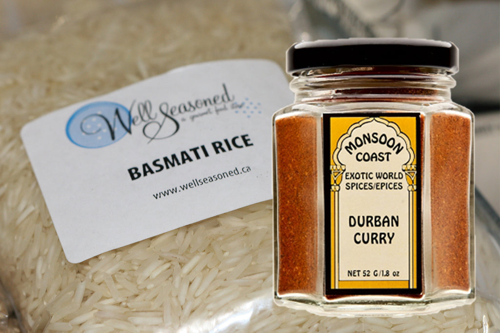 Win a jar of Monsoon Coast Curry Spice and Basmati Rice from Well Seasoned