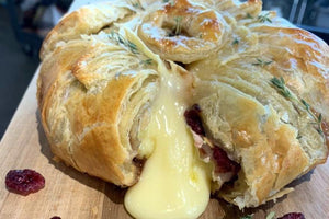 Well Seasoned Brie en Croute