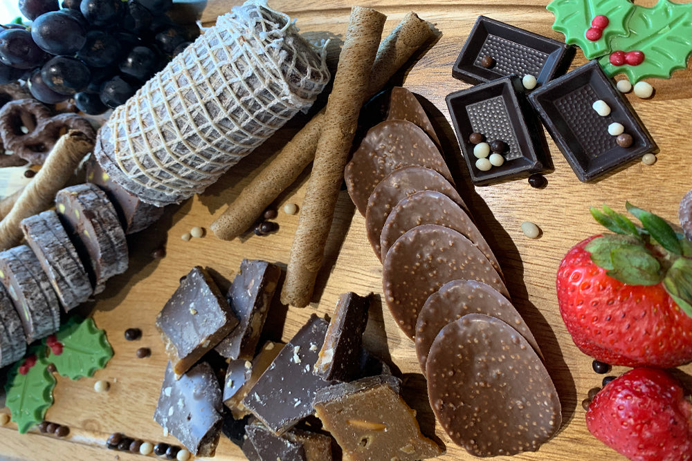 """Chocuterie"" Platter - A Chocolate Lover's Dream"