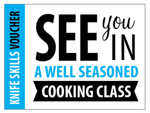 Knife Skills Class | Class Vouchers | Well Seasoned, a gourmet food store and cooking school in Langley, BC
