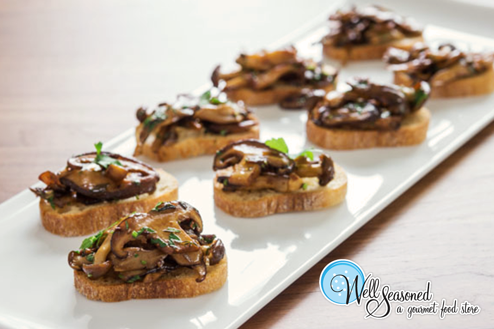 Mushroom Bruscetta (Platter) - Well Seasoned