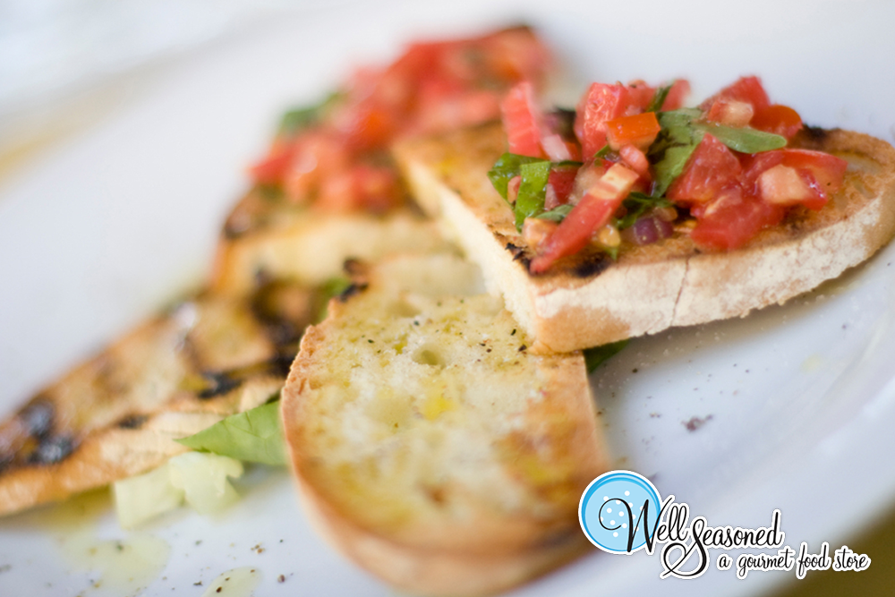 Roasted Tomato Bruschetta (Platter) - Well Seasoned
