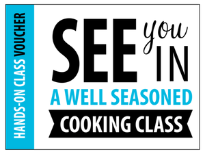 Kids + Parents Cook Together Class Voucher
