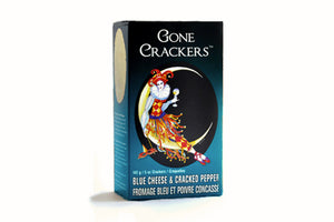 Blue Cheese & Cracked Pepper | Gone Crackers | Well Seasoned, a gourmet food store