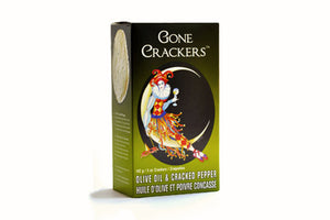 Olive Oil & Cracked Pepper | Gone Crackers | Well Seasoned, a gourmet food store