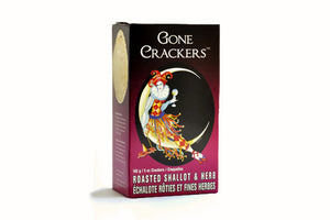 Roasted Shallot & Herb | Gone Crackers | Well Seasoned, a gourmet food store