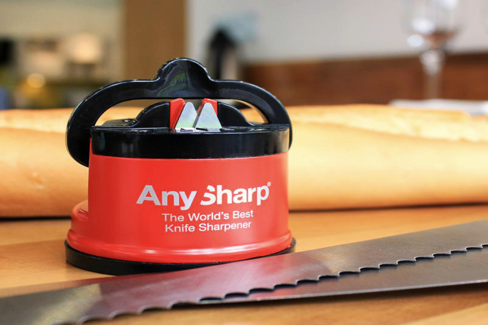 Any Sharp Suction Cup Knife Sharpener