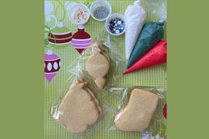 DIY Cookie Kits: Winter Holiday Cookie Fun Kits