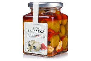 Finca La Barca Green Olives with Smoked Olive Oil