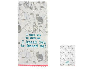 Karma Flour Sack Tea Towel