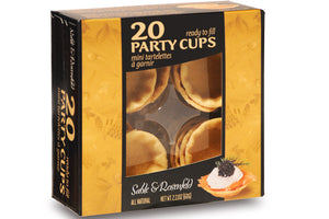 Sable & Rosenfeld Ready to Fill Party Cups