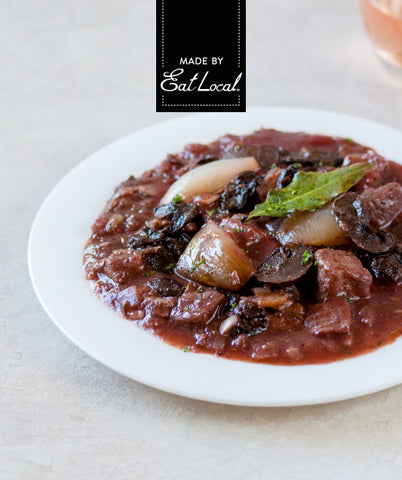 Nutrition details for Beef Bourguignon