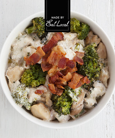 Nutrition details for Keto Creamy Chicken with Bacon