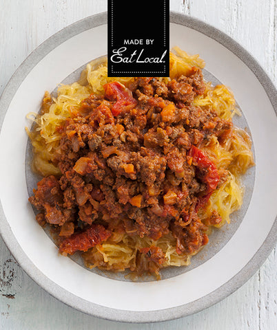 Nutrition details for Keto Spaghetti Squash with Meat Sauce